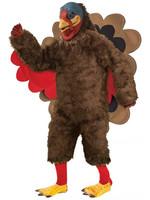 FORUM NOVELTIES Plush Turkey Deluxe Costume - Men's
