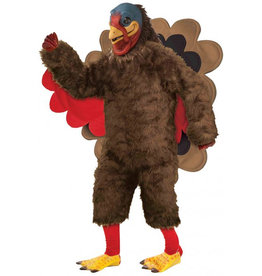 FORUM NOVELTIES Plush Turkey Deluxe Costume - Men's
