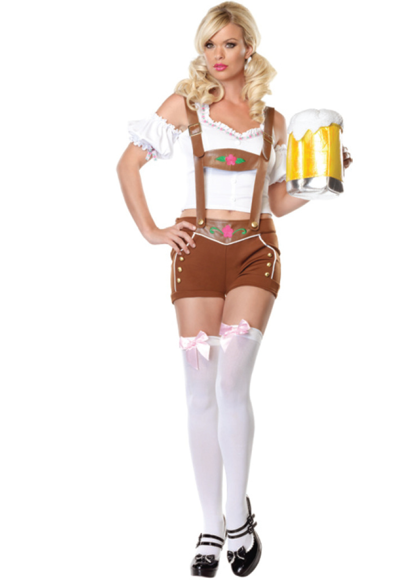 Little Miss Lederhosen Costume - Women's