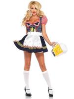 Beer Stein Babe Costume - Women's