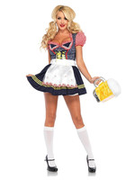 Beer Stein Babe Costume - Women's