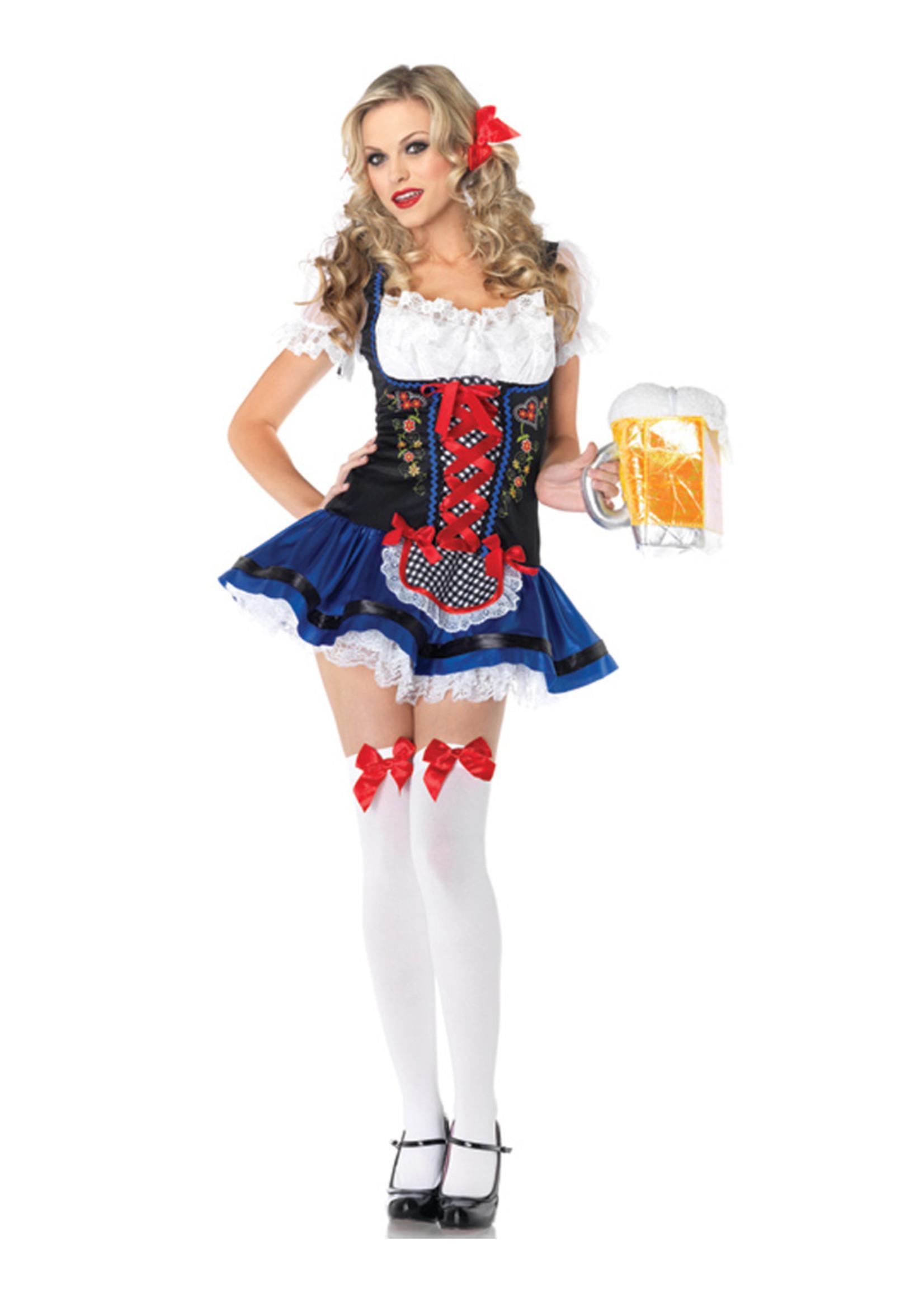 Flirty Frauline Costume - Women's