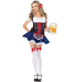 Flirty Frauline Costume - Women's
