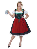 Oktoberfest Frauline Costume - Women's Plus