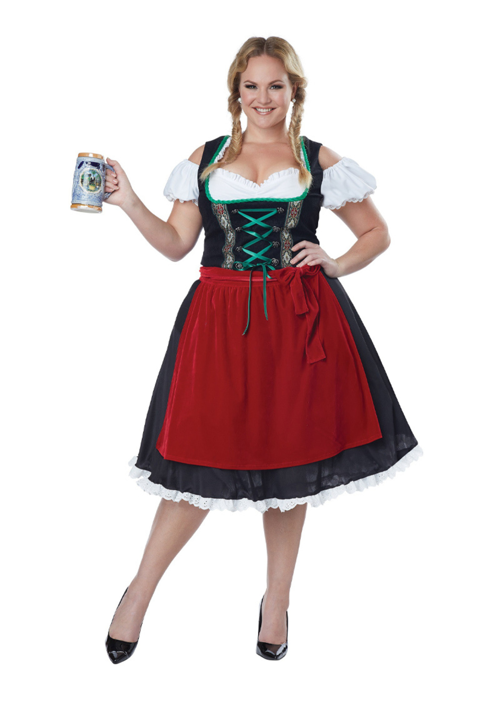 Oktoberfest Frauline Costume - Women's Plus