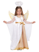 Sweet Little Angel Costume - Girl's