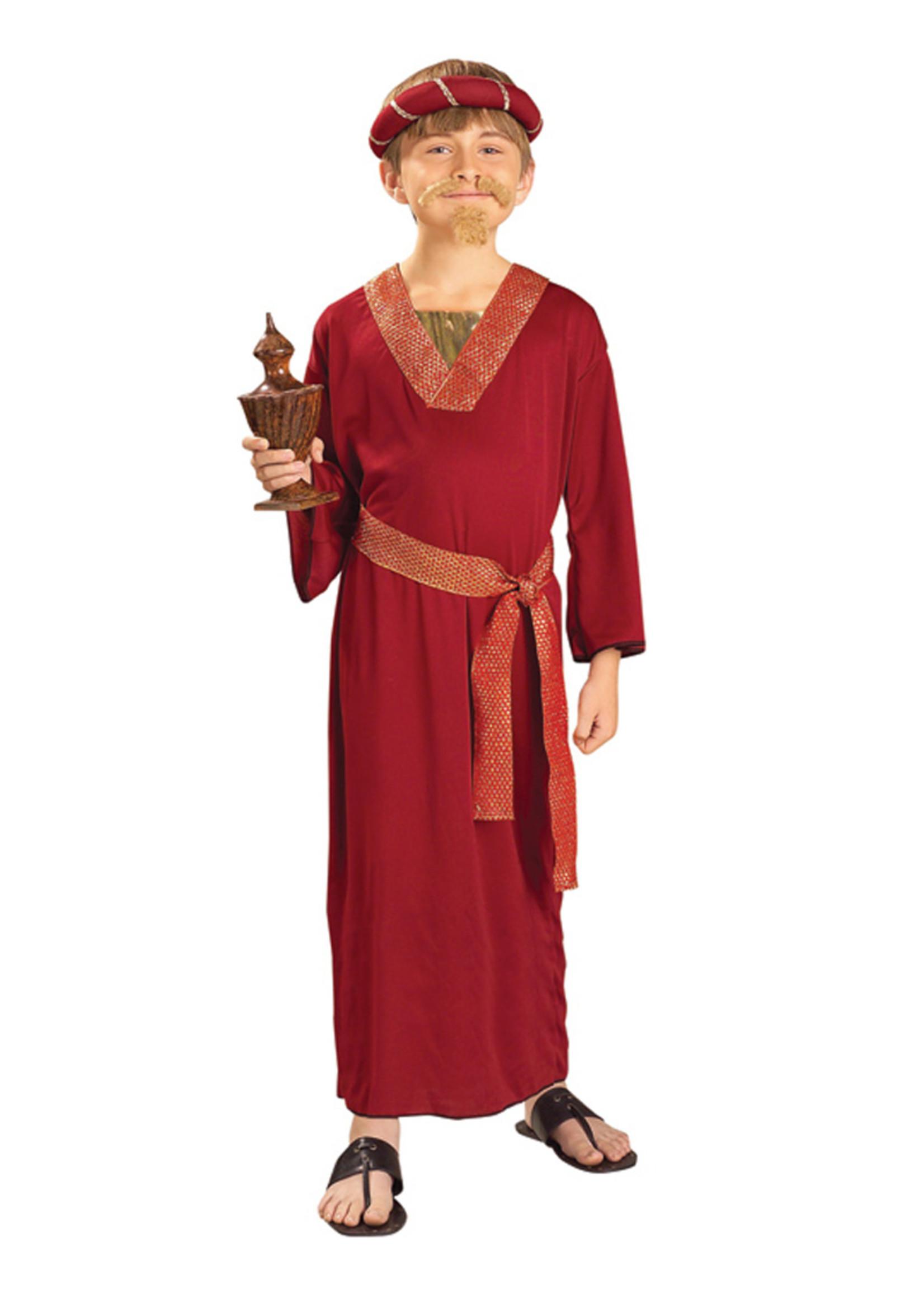 FORUM NOVELTIES Wise Man - Burgundy Costume - Boy's