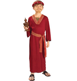Wise Man - Burgundy Costume - Boy's