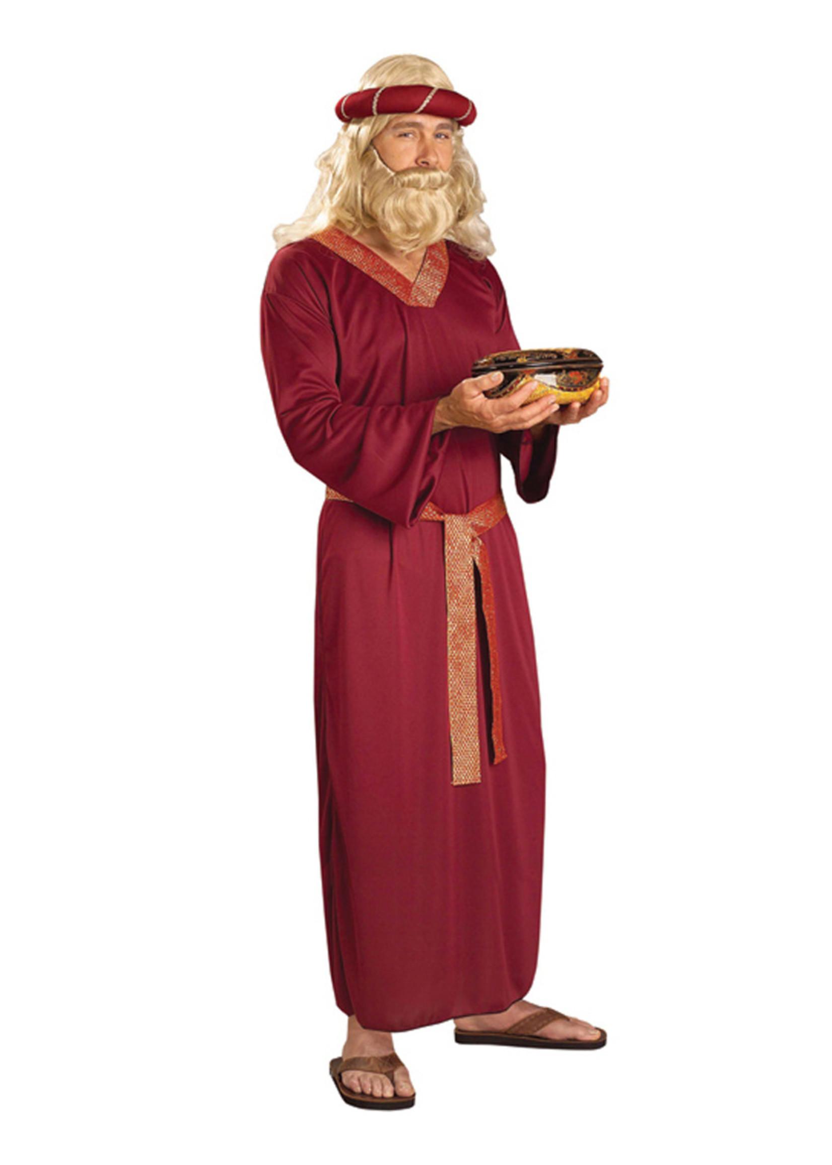 Wise Man - Burgundy Costume - Men's