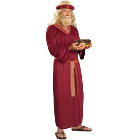 Wise Man - Burgundy Costume - Men's
