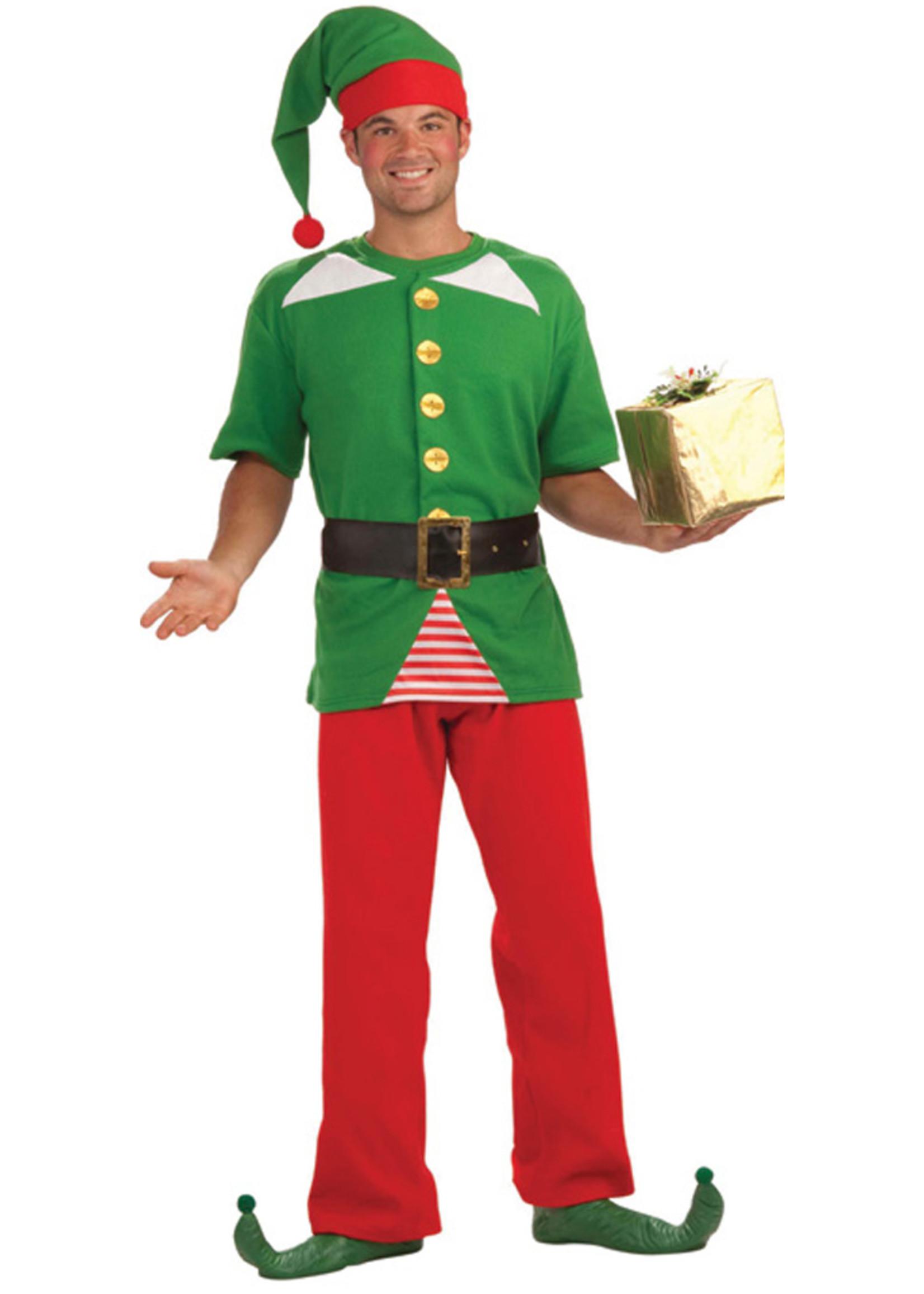 Jolly Elf Costume - Men's