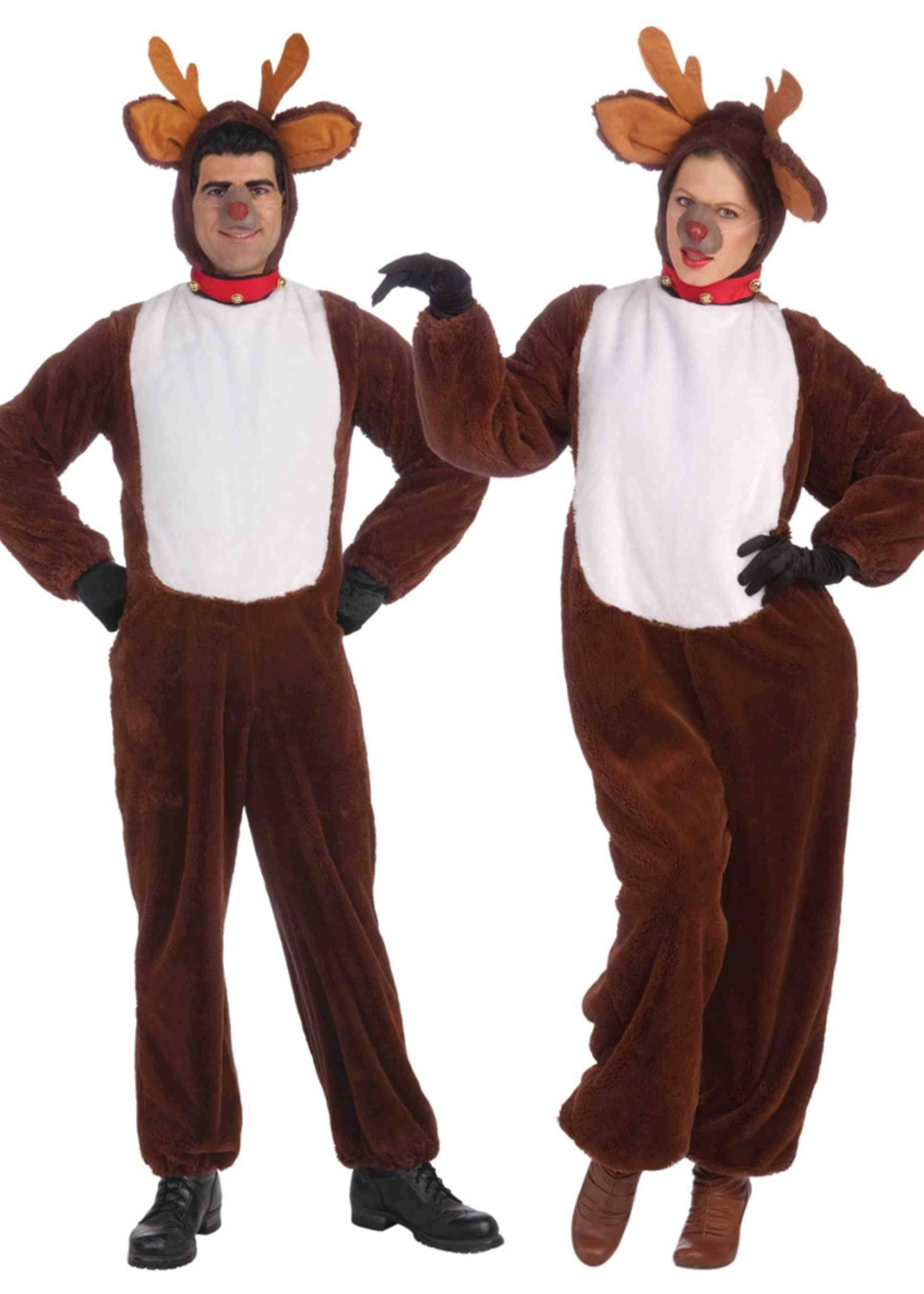 FORUM NOVELTIES Plush Reindeer Costume - Women's