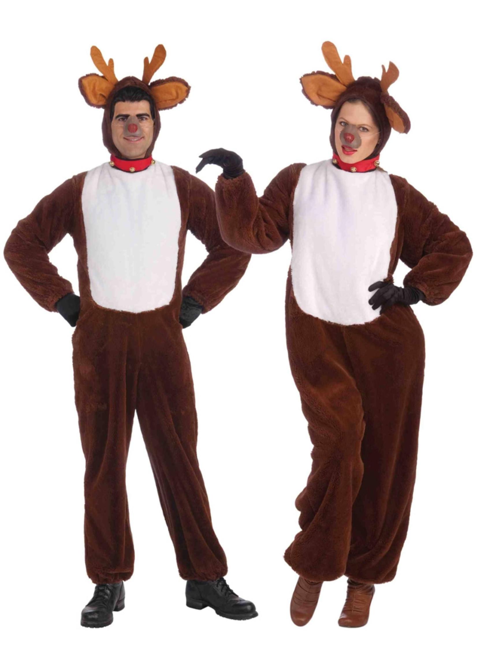 FORUM NOVELTIES Plush Reindeer Costume - Women's