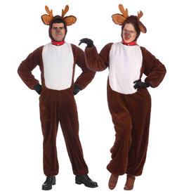Plush Reindeer Costume - Women's