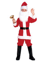 RUBIES Santa Deluxe Costume - Child