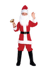 RUBIES Santa Deluxe Costume - Child