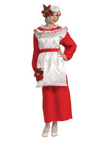 RUBIES Mrs. Poinsettia Claus Costume - Women's