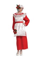 RUBIES Mrs. Poinsettia Claus Costume - Women's