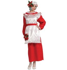 Mrs. Poinsettia Claus Costume - Women's