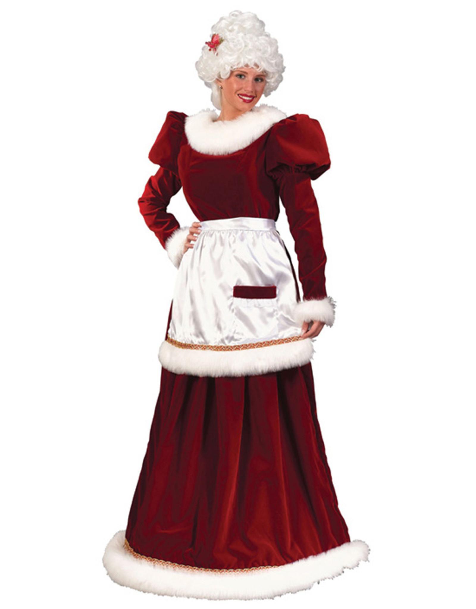 FUN WORLD Velvet Mrs. Claus Costume - Women's