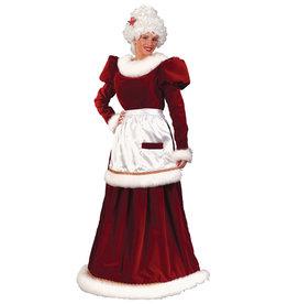 Velvet Mrs. Claus Costume - Women's