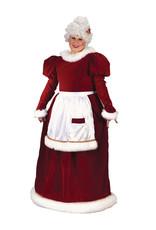 FUN WORLD Velvet Mrs. Claus Costume - Women's Plus