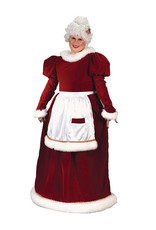 Velvet Mrs. Claus Costume - Women's Plus