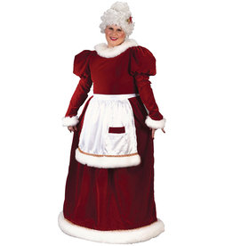 Velvet Mrs. Claus Costume - Women's Plus