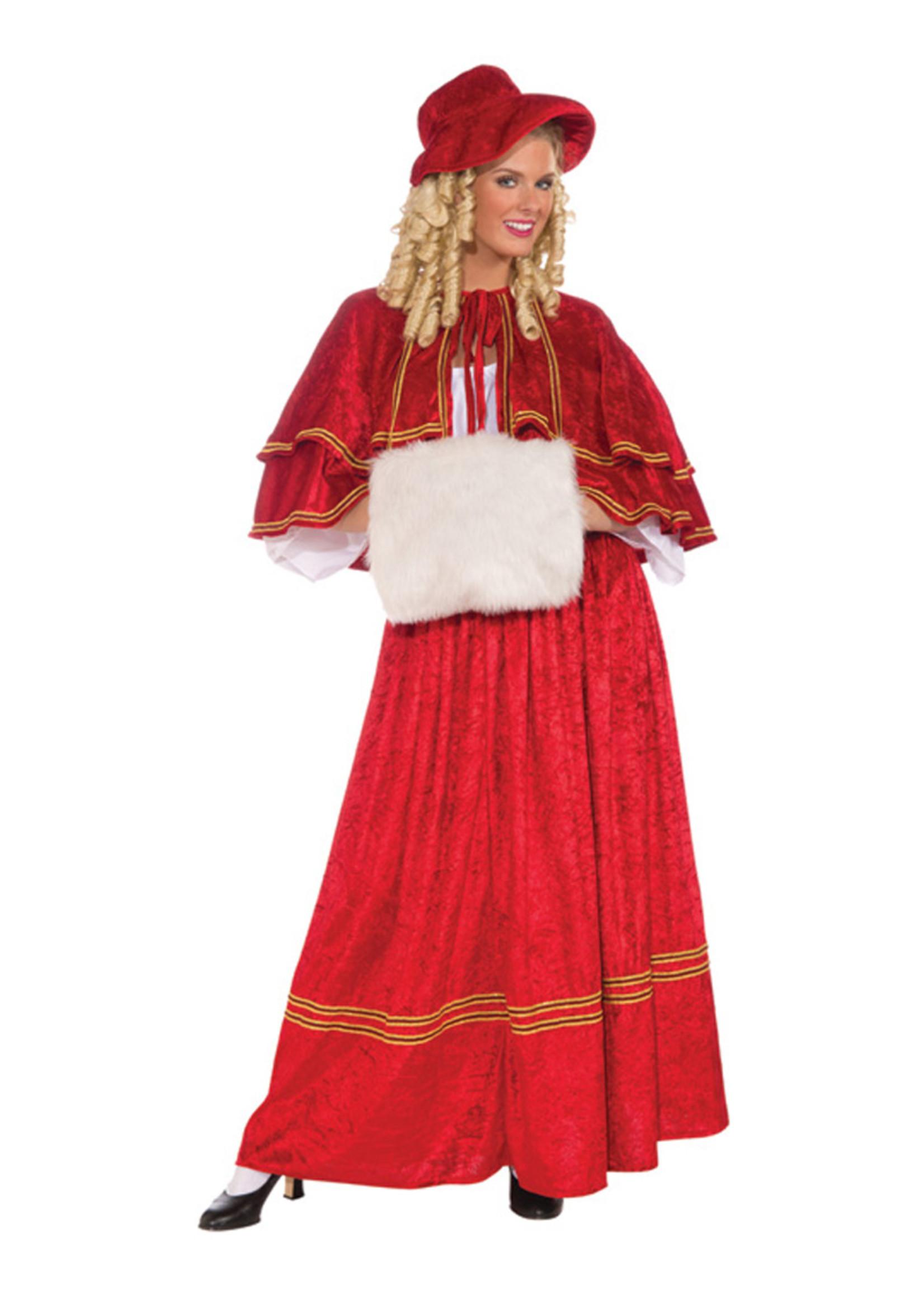 Christmas Caroler Costume - Women's