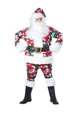 CALIFORNIA COSTUMES Camouflage Santa Suit Costume - Men's