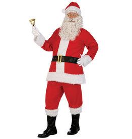 Flannel Santa Deluxe Costume - Men's