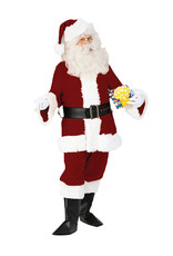 FORUM NOVELTIES Velvet Santa Suit Deluxe Costume - Men's