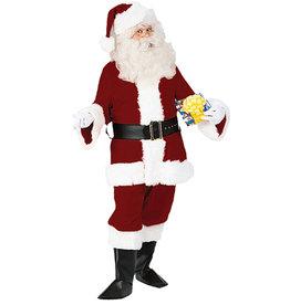 Velvet Santa Suit Deluxe Costume - Men's
