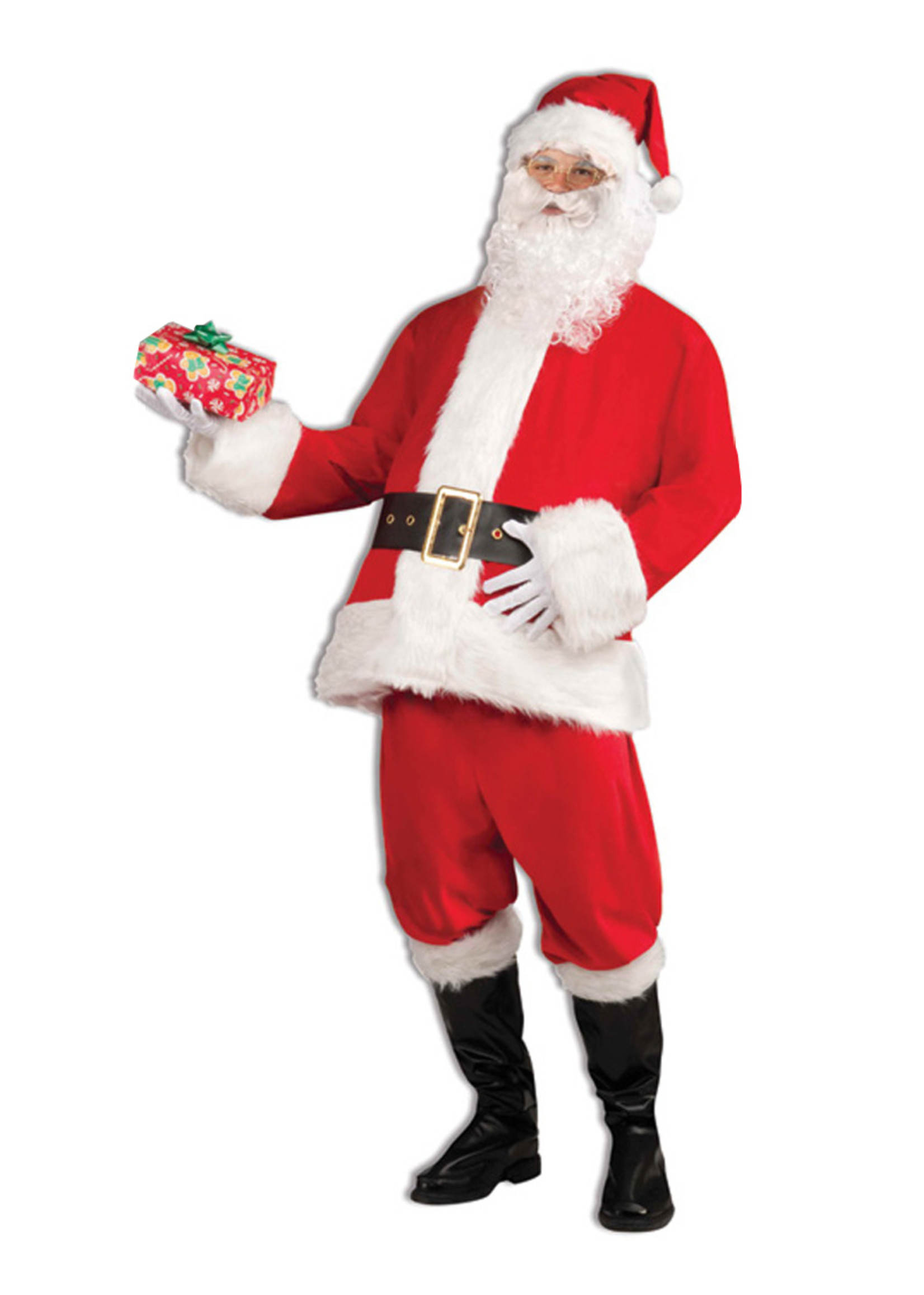 FORUM NOVELTIES Santa Claus Costume - Men's