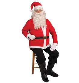 Santa Jacket Set Costume - Men's