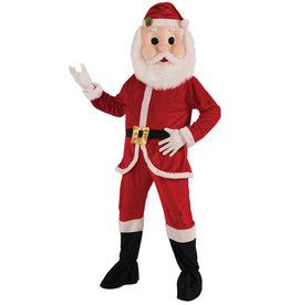Santa Plush Costume - Men's