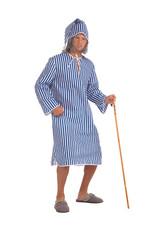 Scrooge Nightshirt & Cap Costume - Men's