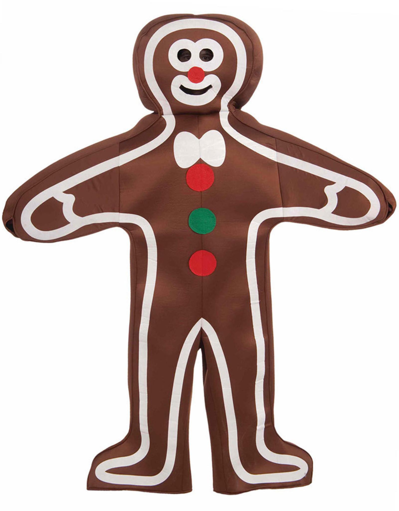 FORUM NOVELTIES Gingerbread Man Costume - Men's