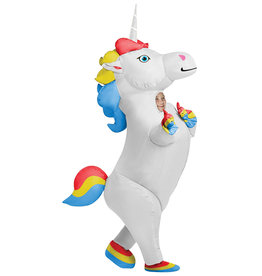 Prancing Inflatable Unicorn - Youth