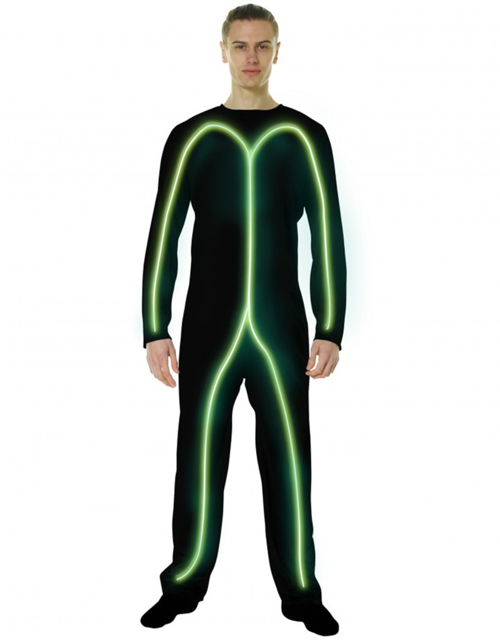Green Glow Stick Man - Adult