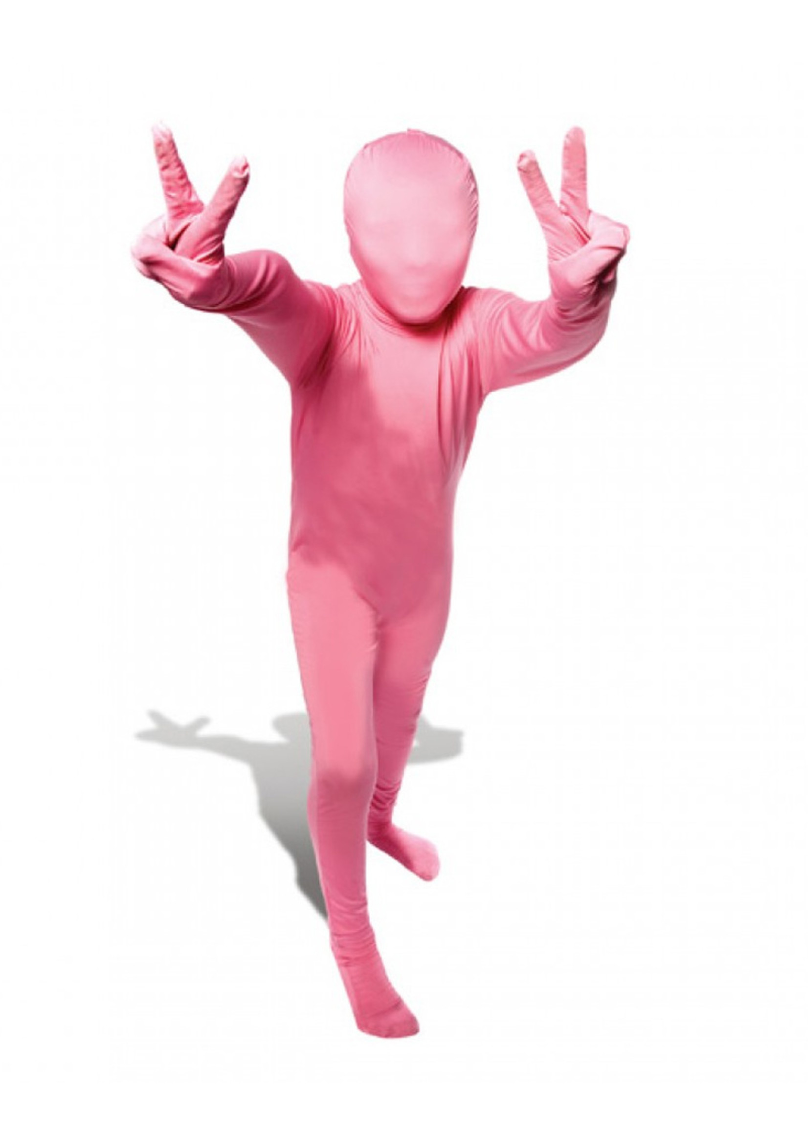 Pink Morphsuit Costume - Youth