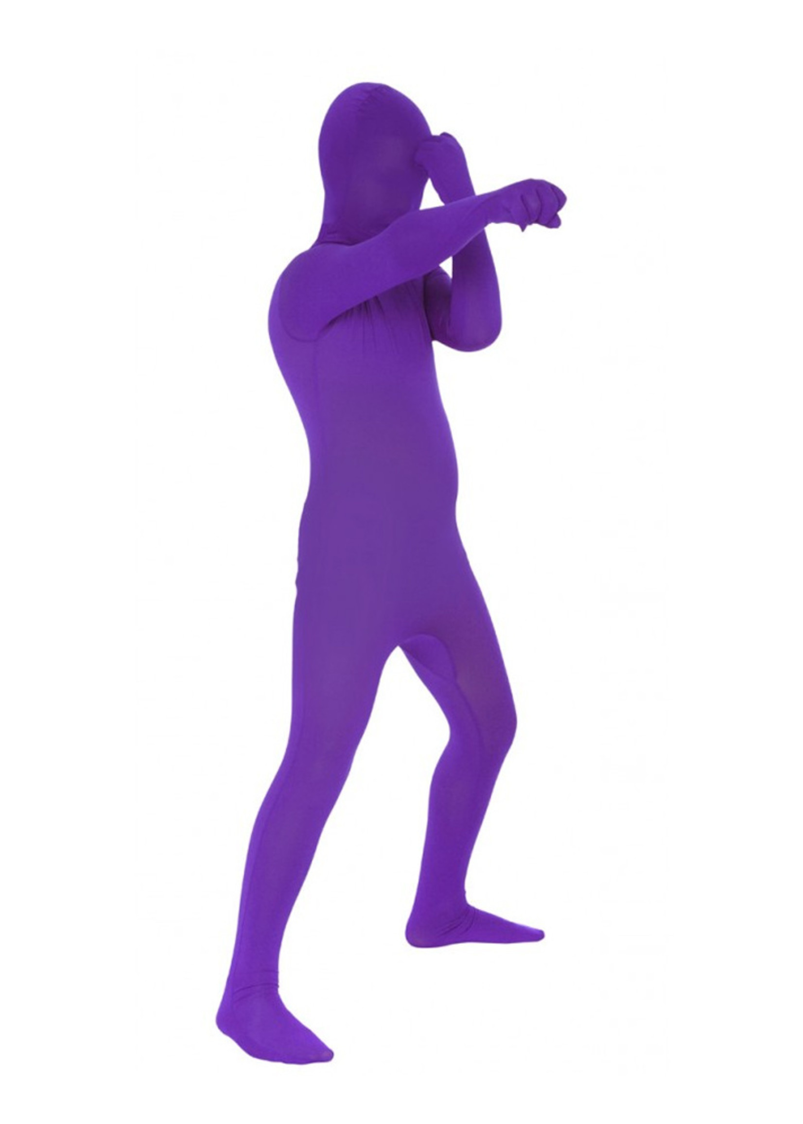 Purple Morphsuit Costume - Boy's