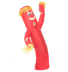 Red Wavy Arm Guy Inflatable - Adult