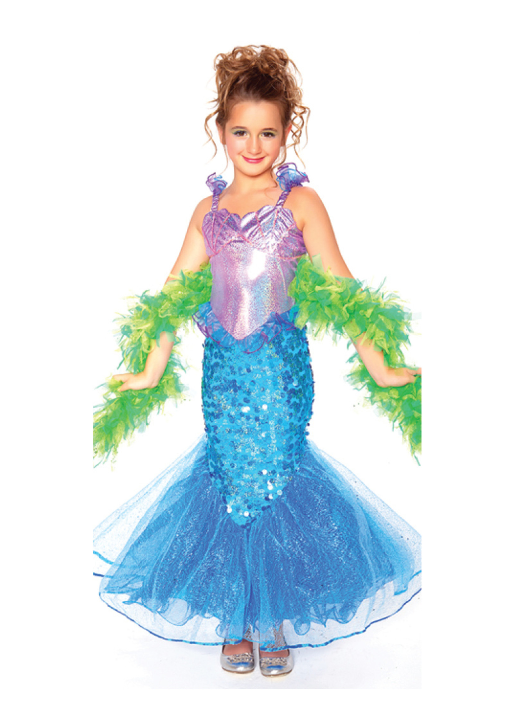 Mermaid with Boa - Girls