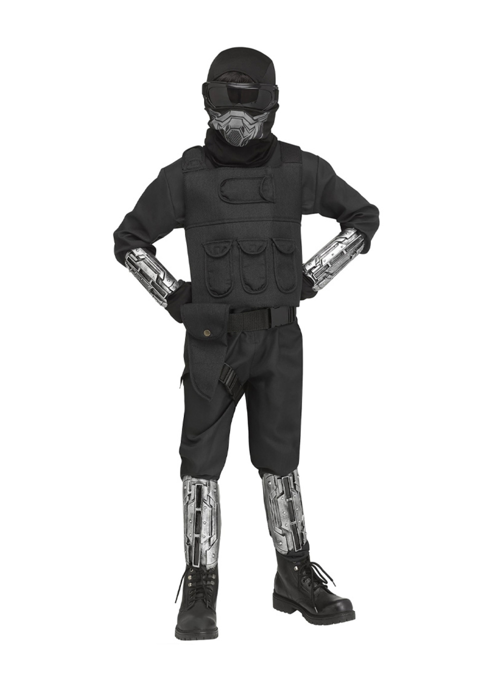 Gaming Fighter Costume - Boys