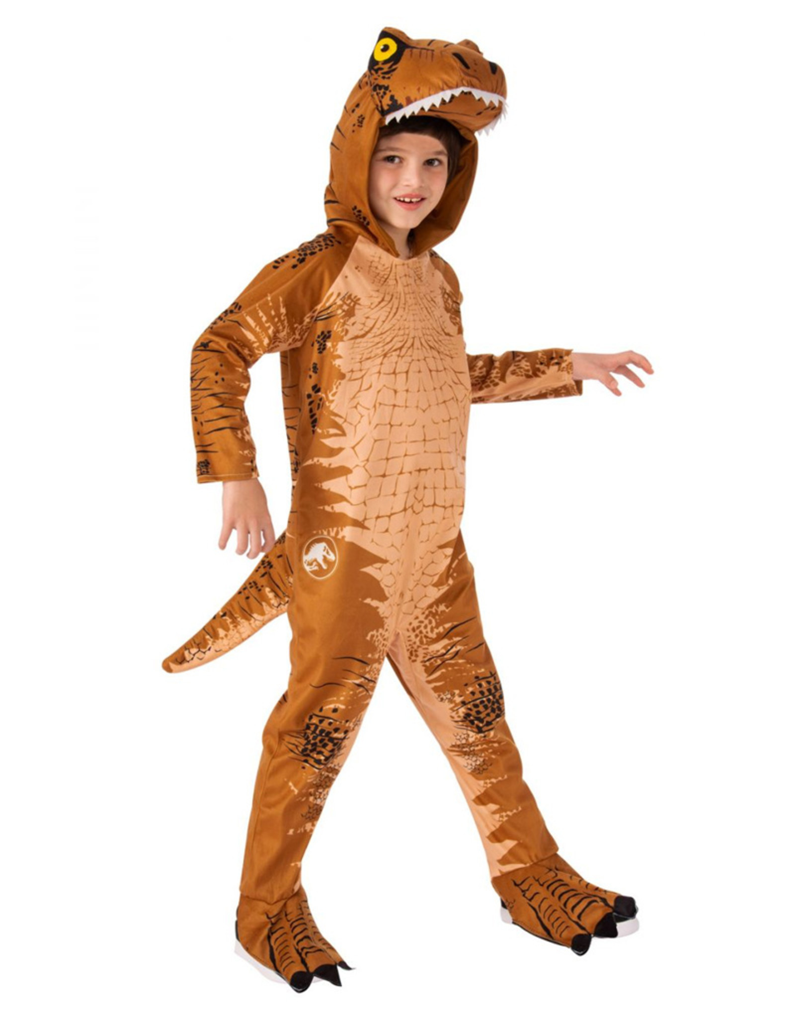 T-Rex Oversized Jumpsuit Costume - Boys