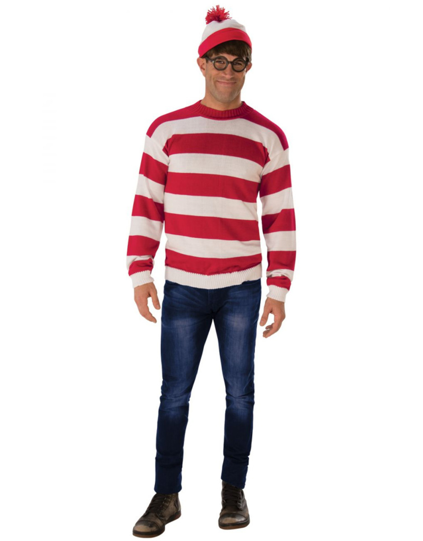 Deluxe Where's Waldo - Adult