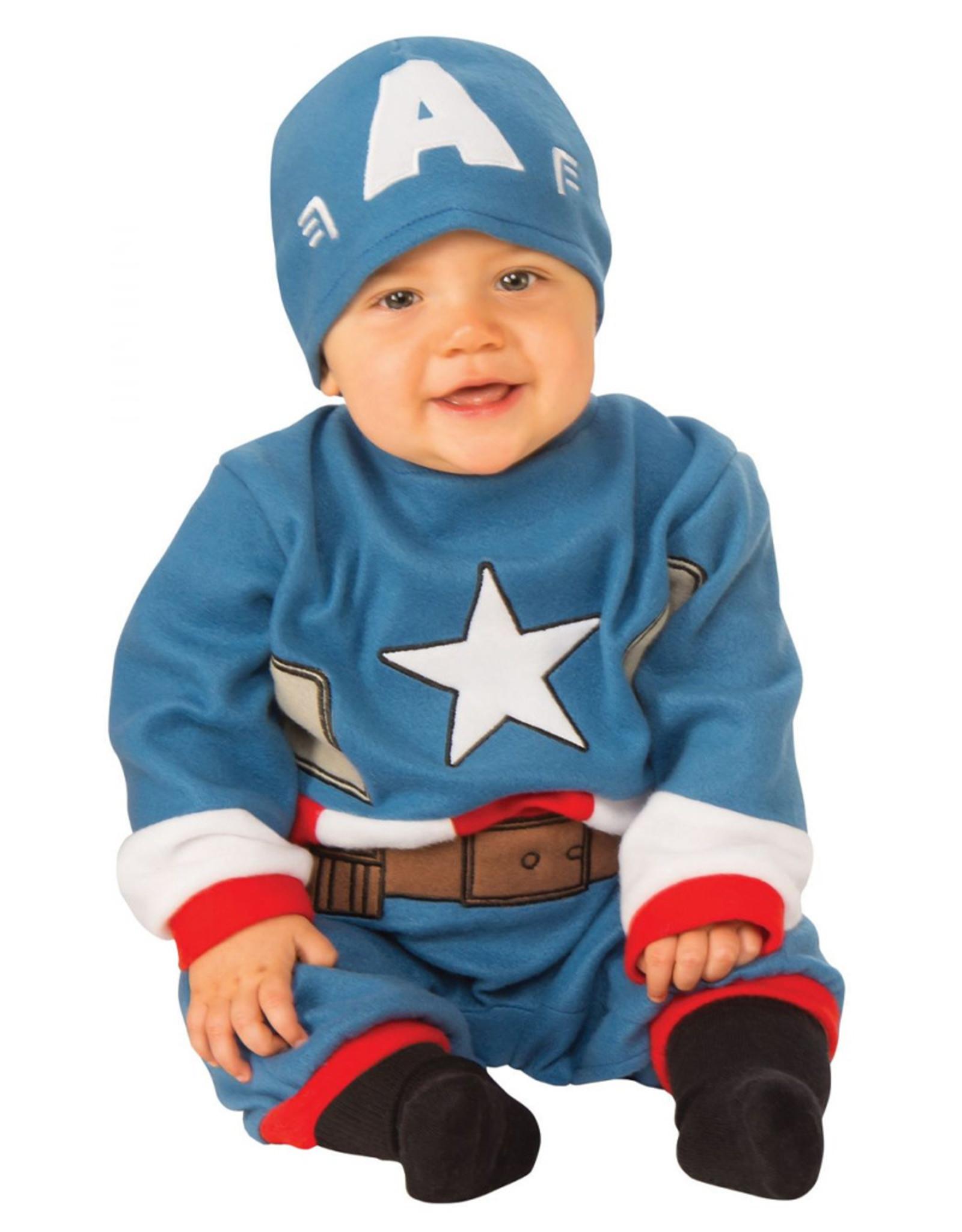 Captain America Romper - Infant