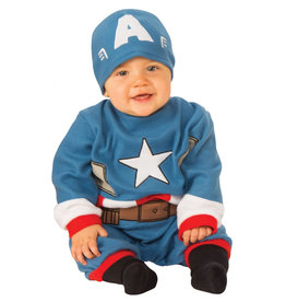 Captain America Romper - Infant