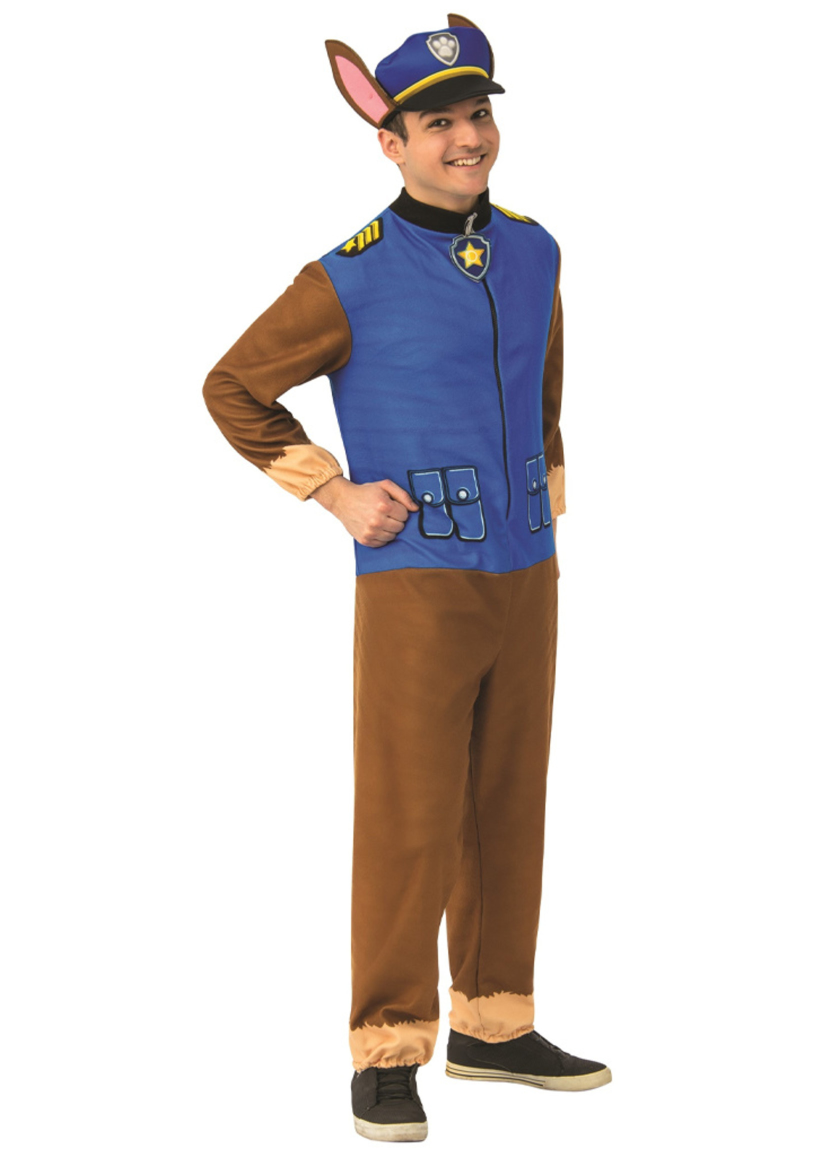 Paw Patrol Chase Jumpsuit - Adult